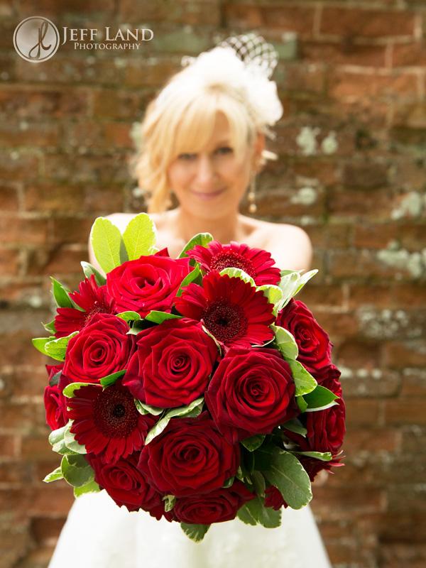 Bride & Bouquet -  Alveston Manor