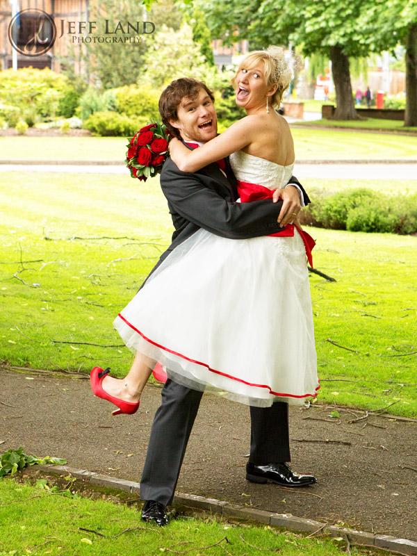Bride & Best Man -  Alveston Manor