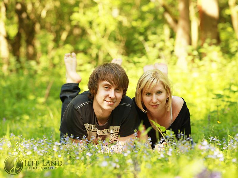 Engagement shoot - Bearley Woods, Stratford upon Avon, Warwickshire