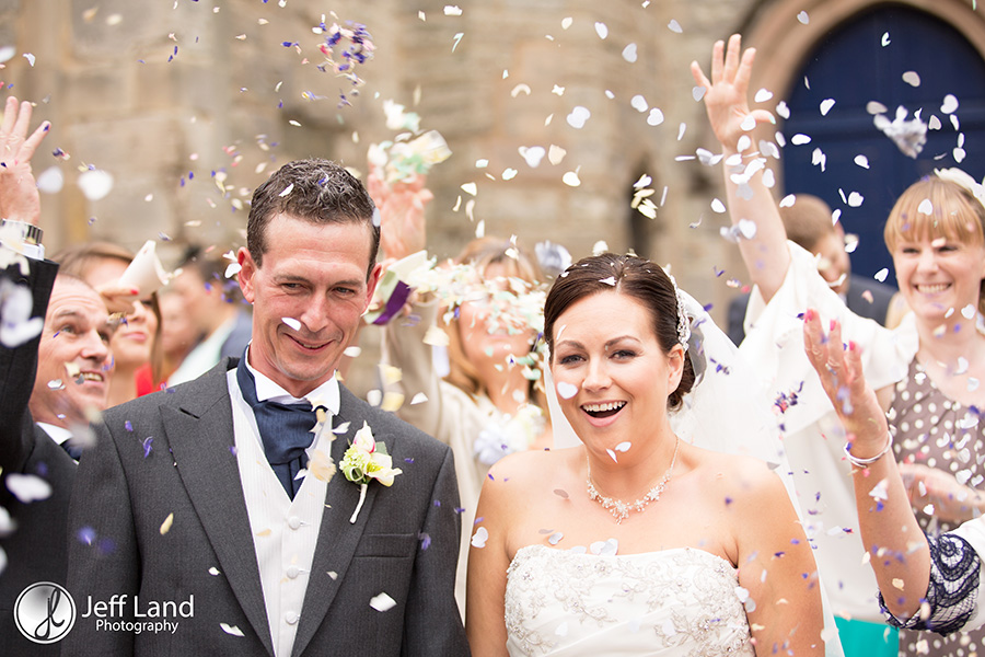 Confetti, Wedding Photographer, St Nicholas Parish Church, Alcester, Salford Hall, Stratford-upon-Avon, Warwickshire, Event Photographer