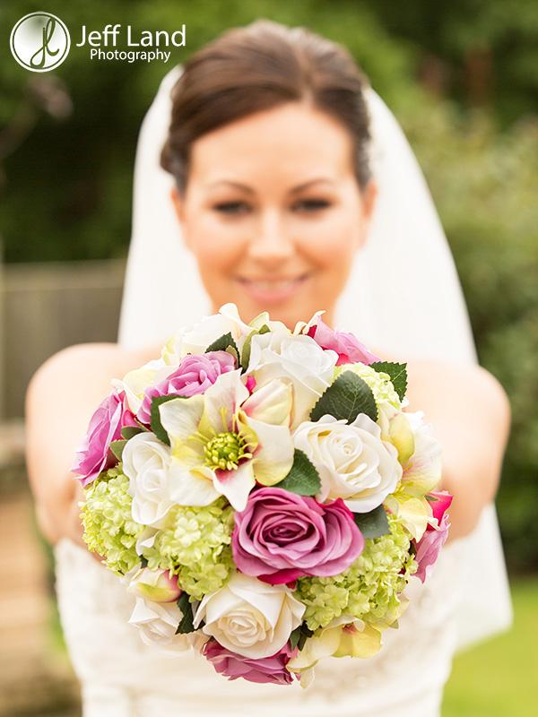Bridal Bouquet, Wedding Photographer, St Nicholas Parish Church, Alcester, Salford Hall, Stratford-upon-Avon, Warwickshire, Event Photographer