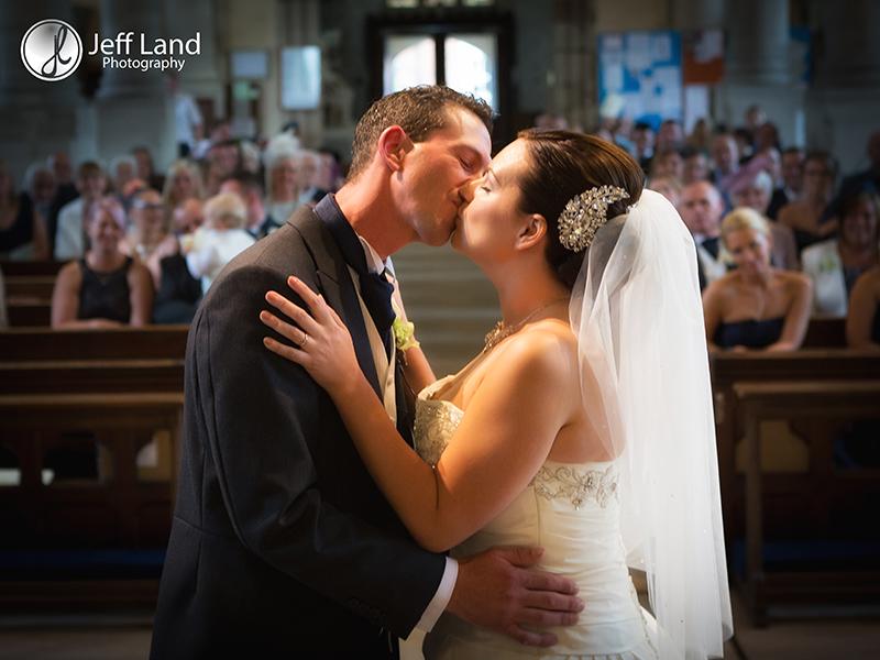 First Kiss, Wedding Photographer, St Nicholas Parish Church, Alcester, Salford Hall, Stratford-upon-Avon, Warwickshire, Event Photographer