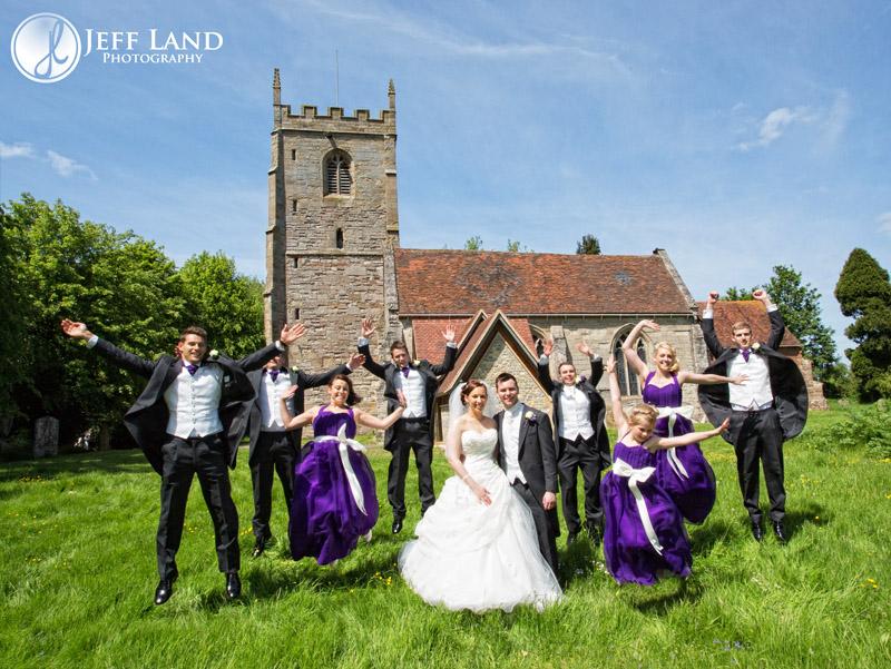 Ash & Rebecca – Studley Church – Alveston Manor – Stratford upon Avon