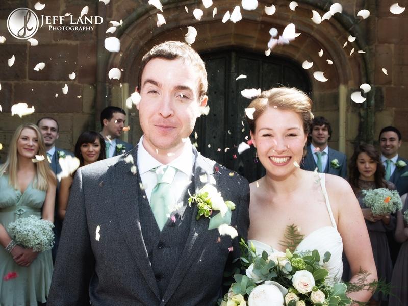Confetti, Wedding, St Aphege, Solihull, Birmingham