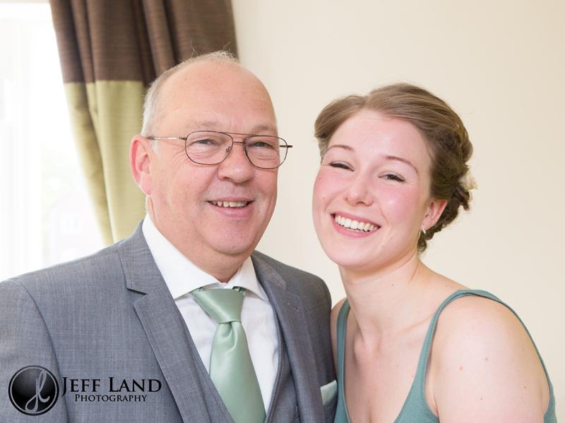 Wedding Photographer, St Aphege Church, Solihull, Birmingham, Warwickshire Photographer, Father of the Bride, Portrait