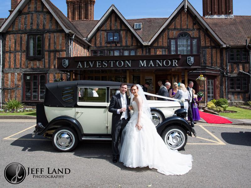 Alveston Manor at Studley Church nr Stratford Upon Avon, Warwickshire