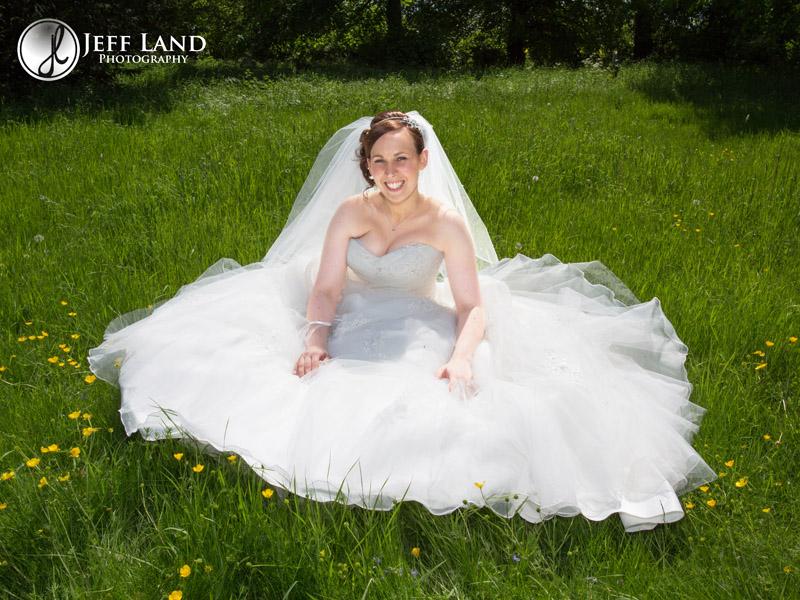 Bride at Studley Church nr Stratford Upon Avon, Warwickshire