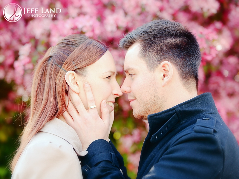 Engagement Portraits, Pre Wedding Shoot, Shottery, Stratford upon Avon, Warwickshire Photographer, Photographer, Warwickshire, cherry blossom