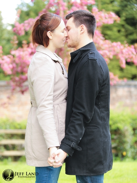 Engagement Portraits, Pre Wedding Shoot, Shottery, Stratford upon Avon, Warwickshire Photographer, Photographer, Warwickshire, cherry blossom