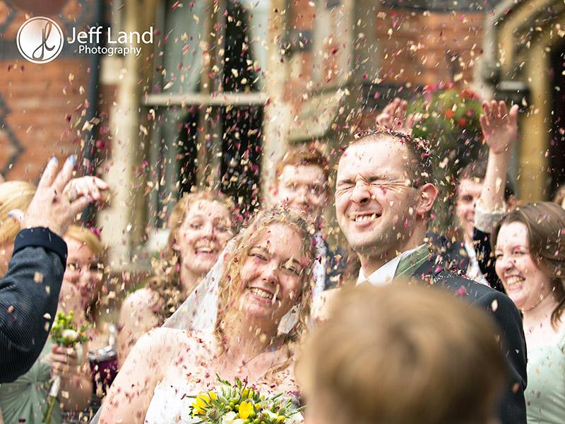 Confetti - Wedding - Brownsover Hall Hotel - Rugby - Warwickshire