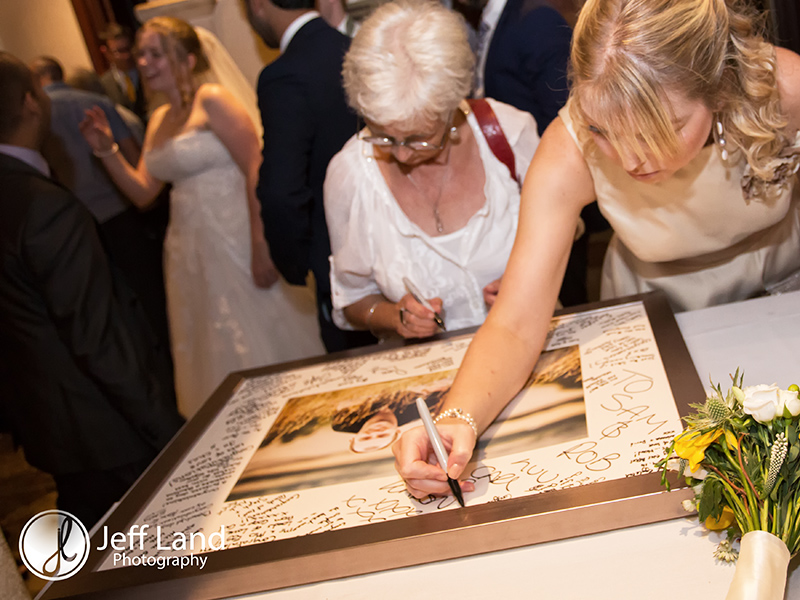 Signing Board, Wedding Photographer, Brownsover Hall Hotel, Rugby, Warwickshire, Event Photographer