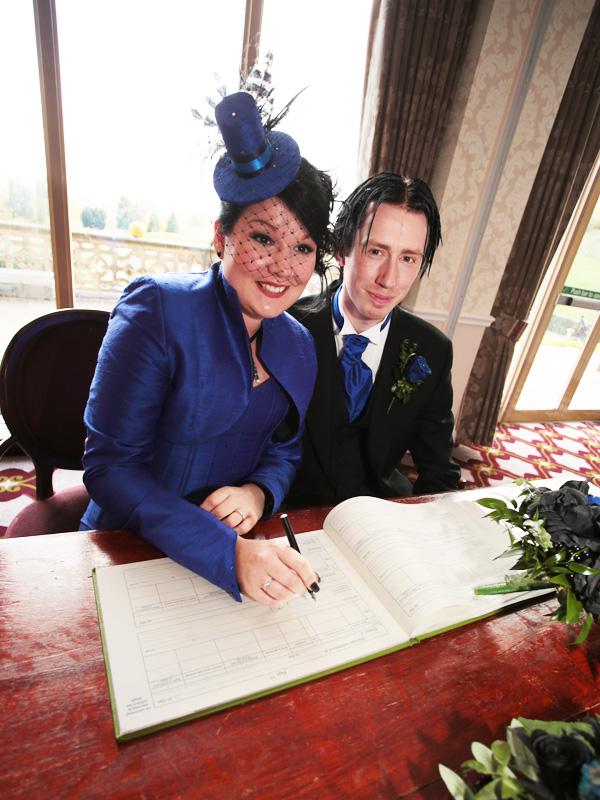 Bride & Groom, Stratford Upon Avon, Warwickshire