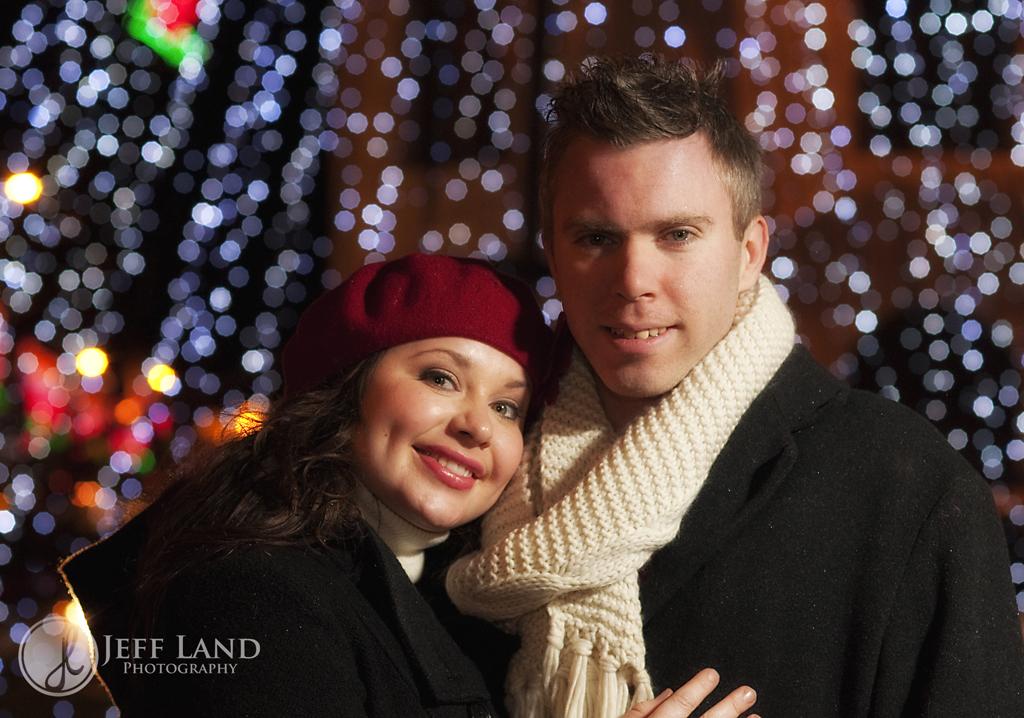 Photographer, Stratford-upon-Avon, Warwickshire, Portrait, Winter, Christmas Lights