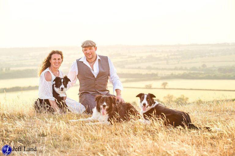 Outstanding Pre-Wedding Shoot Burton Dassett Hills