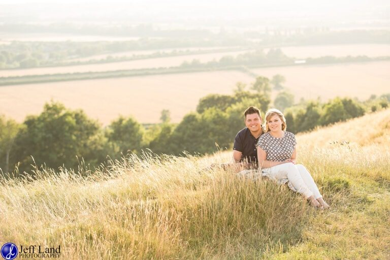 Wonderful Pre-Wedding Shoot Burton Dassett Hills