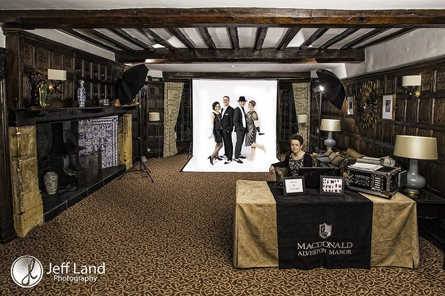 Photo Booth, Crazy Booth, Photographer, Alveston Manor, Stratford-upon-Avon, Warwickshire