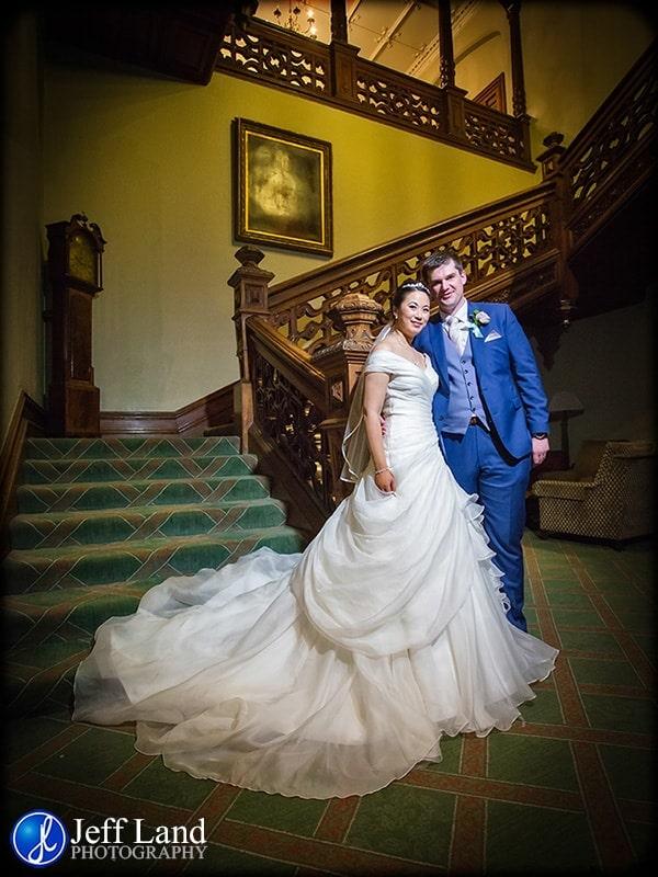 Warwickshire Wedding Photographer, Welcombe Hotel, Light Painting, Jeff Land Photography