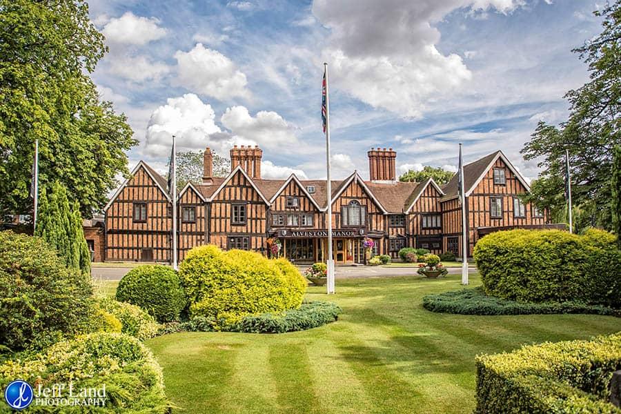 Macdonald Alveston Manor, Stratford-upon-Avon, Warwickshire Wedding Photographer, Photography, Bride & Groom, Jeff Land, Just Married, Event