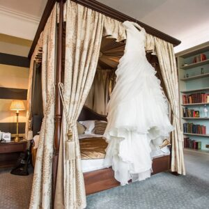 Welcombe Hotel, Wedding Photographer, Stratford-upon-Avon, Warwickshire, Chinese, Wedding Dress, Four Poster, Bridal Suite