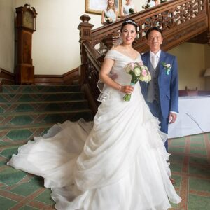 Welcombe Hotel, Wedding Photographer, Stratford-upon-Avon, Warwickshire, Chinese, Father of the Bride, Ceremony,