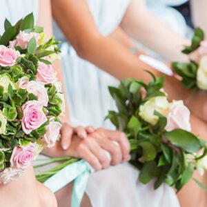 Welcombe Hotel, Wedding Photographer, Stratford-upon-Avon, Warwickshire, Chinese, Ceremony, Bridesmaids, Bouquet