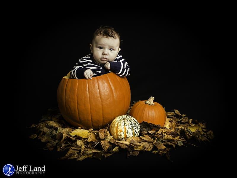 Pumpkin Baby, Baby Portrait, Studio, Warwick Photographer, Warwickshire, St Johns, Leamington Spa, Kenilworth, Stratford-upon-Avon