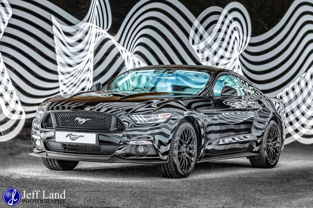 Mustang, Creative, Car, Product, Photographer Warwickshire, Warwick, Photographer, Stratford-upon-Avon, Leamington Spa, Kenilworth, Light Painting