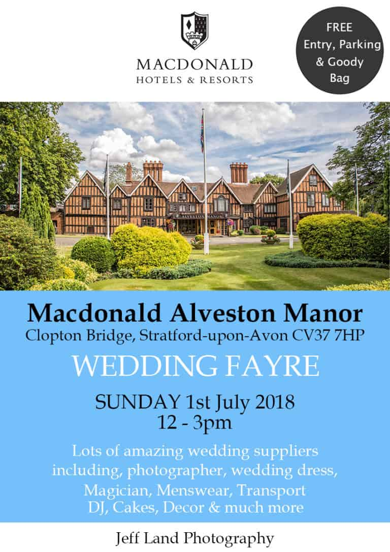 Macdonald Alveston Manor Wedding Fayre