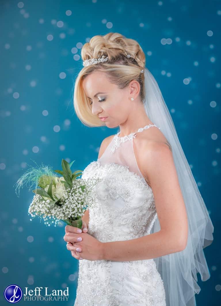 This Beautiful Bridal Portrait was taken at Alveston Manor