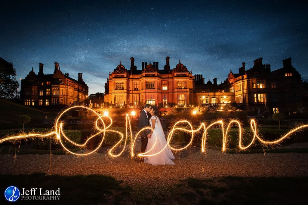 Welcombe Hotel, Corporate Events, Cotswold, Events Photographer, Leamington Spa, Photographer Warwickshire, Stratford-upon-Avon, Warwickshire Photographer, Wedding Photographer, www.jefflandphotography.co.uk, Jeff Land Photography, Warwick, Light Painting, Sparklers