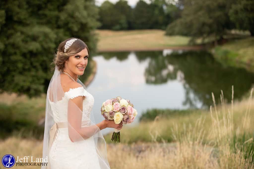 Hallmark Welcombe Hotel, Wedding Venue, Stratford-upon-Avon, Warwickshire, Photographer, Bride & Groom