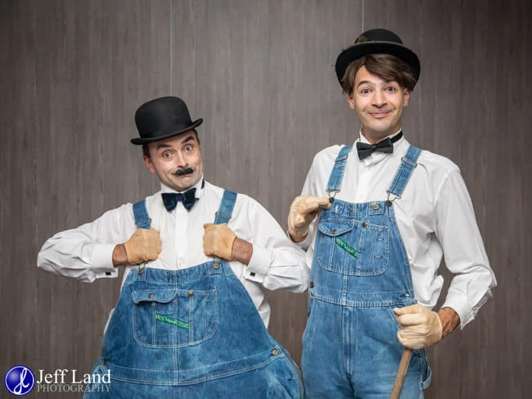Laurel & Hardy Duo at the Crowne Plaza