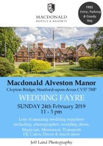Wedding Fayre at the Macdonald Alveston Manor