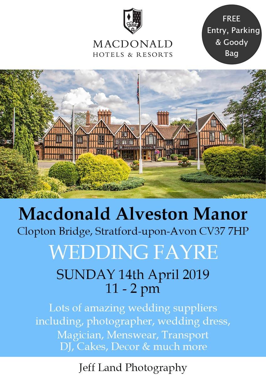Wedding Fayre, Macdonald Alveston Manor, Strtaford-upon-Avon, Warwickshire, Photographer, Event
