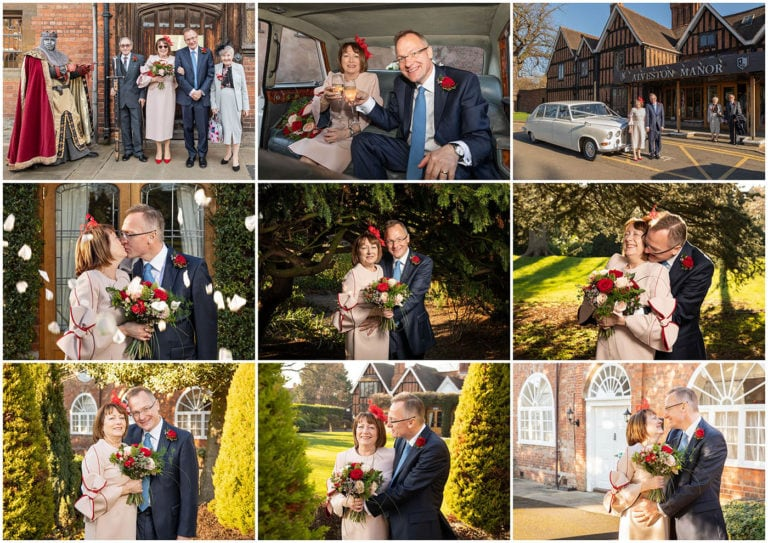 Small Intimate Wedding ceremony at the Henley Room