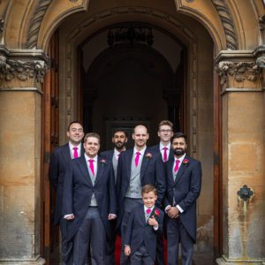 Groomsmen Walton Hall Wedding