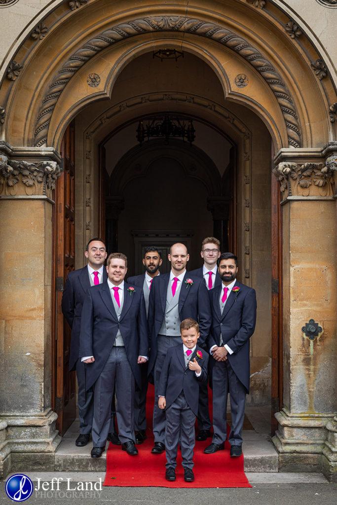 Groomsmen Walton Hall Wedding