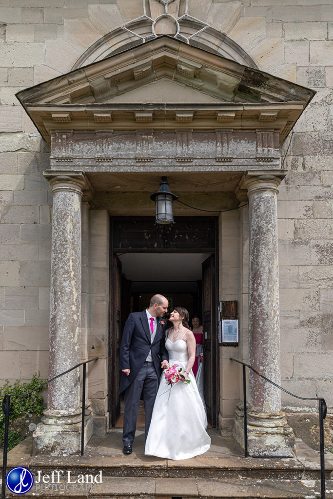 Just Married Walton Hall