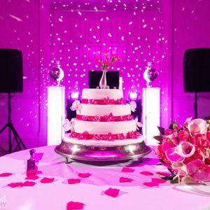 Walton Hall Wedding Cake