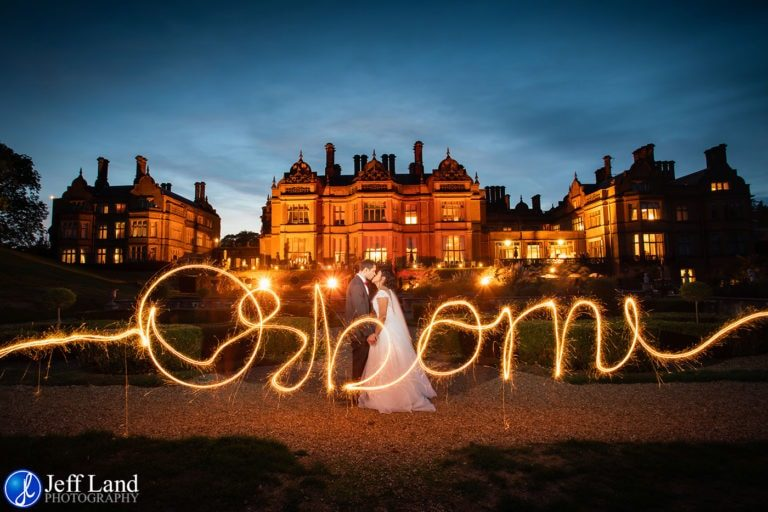 Read more about the article Quality Wedding Photography using Sparklers Welcombe Hotel