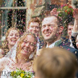 Confetti, Brownsover Hall Hotel, Wedding Photographer