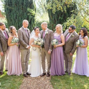 Bridal Party, Wedding Photographer, Stratford upon Avon, The Bell, Alderminster, St. Mary's Church, Wimpstone