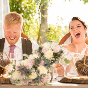 Laughing Bride, Wedding Photographer, Stratford upon Avon, The Bell, Alderminster, St. Mary's Church, Wimpstone