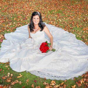 Autumn, Bride, Portrait, Wedding, Cotswolds, Photographer, Ettington Park Hotel, Stratford upon Avon, warwickshire