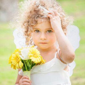 Wedding Photographer, Stratford upon Avon, Warwickshire, Flower Girl, Portrait