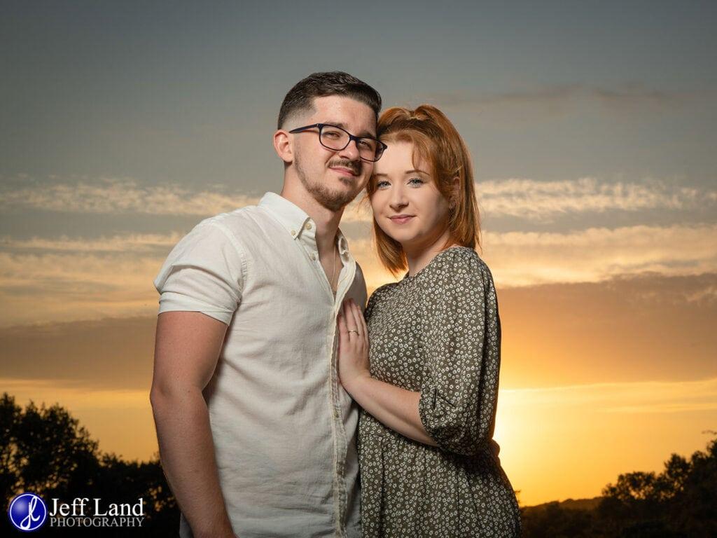 Pre-wedding Shoot, Engagement, Wedding, Photographer, Warwickshire, Wootton Wawen, St Peters Church, Sunset, Photography, Wootton Park, Celebration