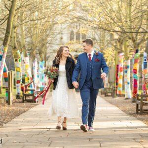 Wedding Photographer at Holy Trinity Church, Stratford upon Avon, Warwickshire