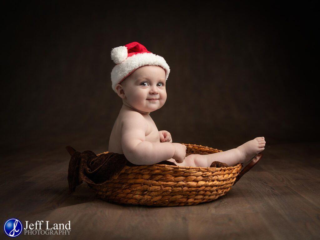 Christmas Baby Portrait, Warwickshire, Portrait, Photographer, Family Photo, Baby Photographer, Warwick, Stratford upon Avon, Studio Photographer, Cotswold