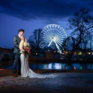 Wedding Photographer, Stratford upon Avon, Warwickshire, Light Painting, Cotswold