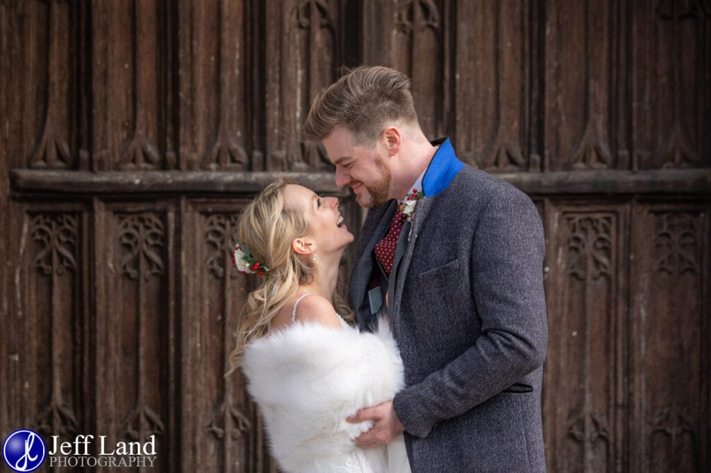 Just Married Holy Trinity Church Stratford upon Avon Warwickshire
